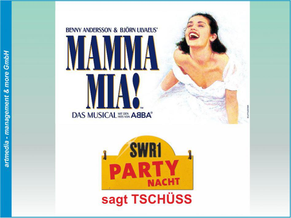 SWR 1 - Party Nacht - Mamma Mia